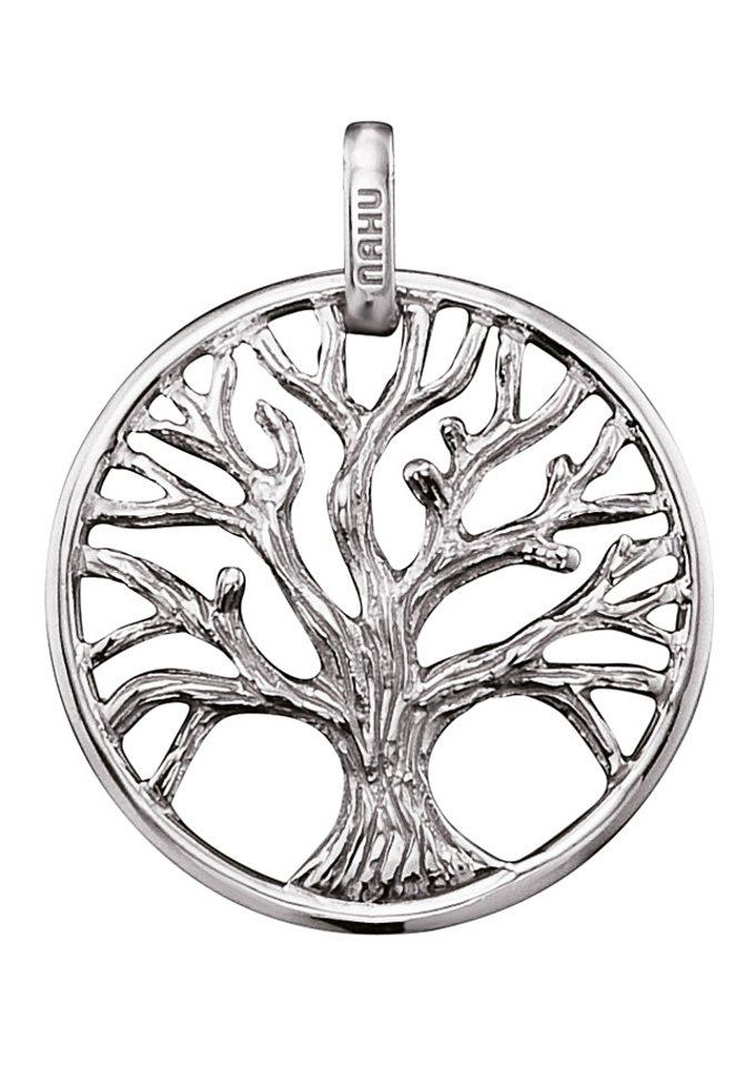 NAHU Anhänger Lebensbaum, »Leaves of Eden, NAP-EDEN-S« in Silber 925