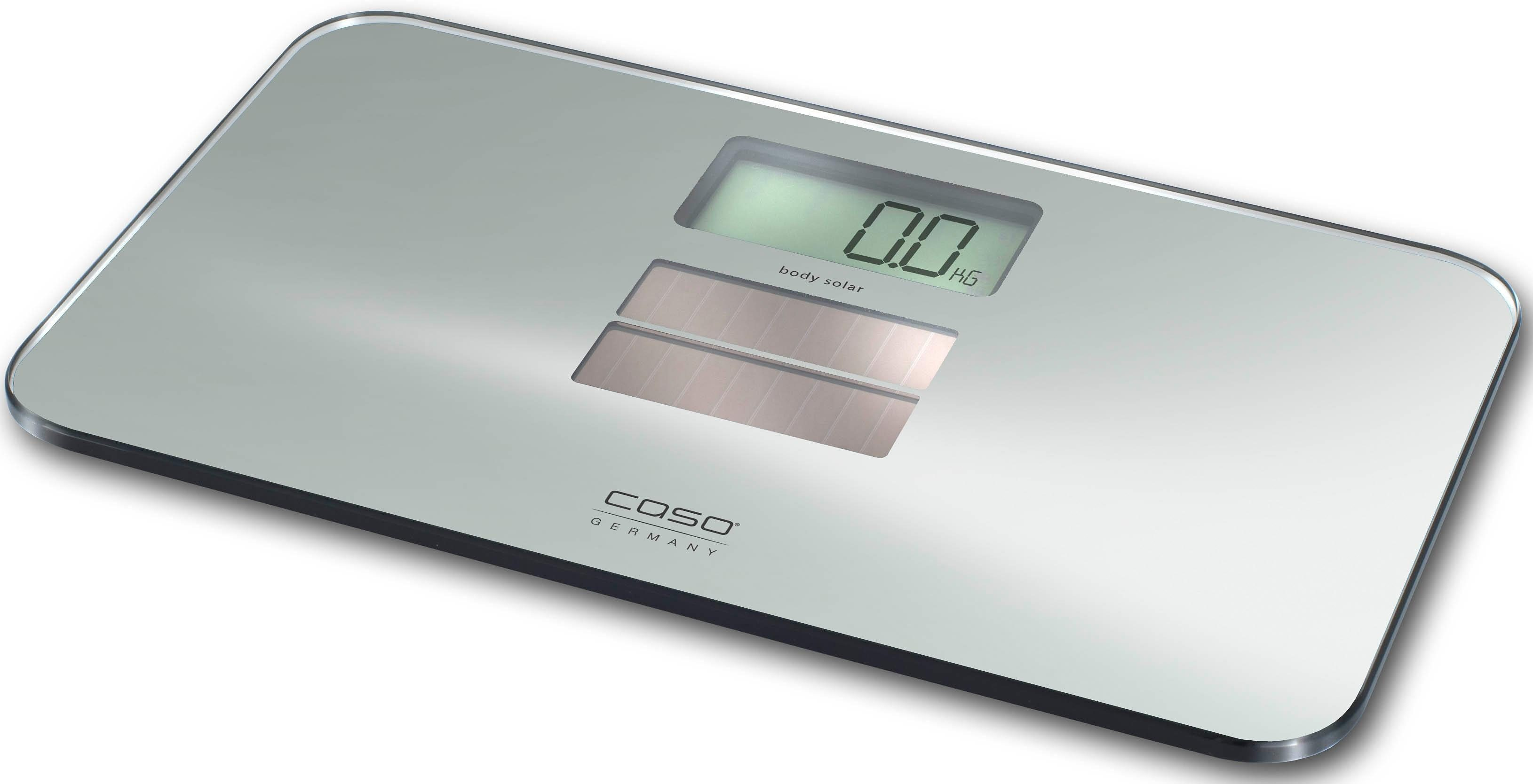 caso Germany Personenwaage CASO Body Solar, mit Solarzellenakku