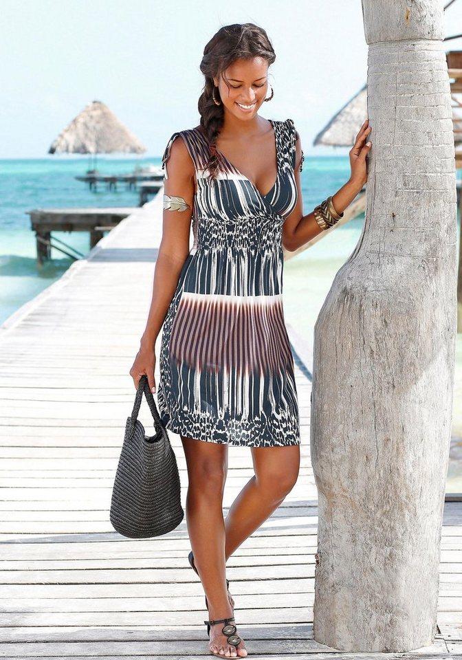 LASCANA Strandkleid in bedruckt