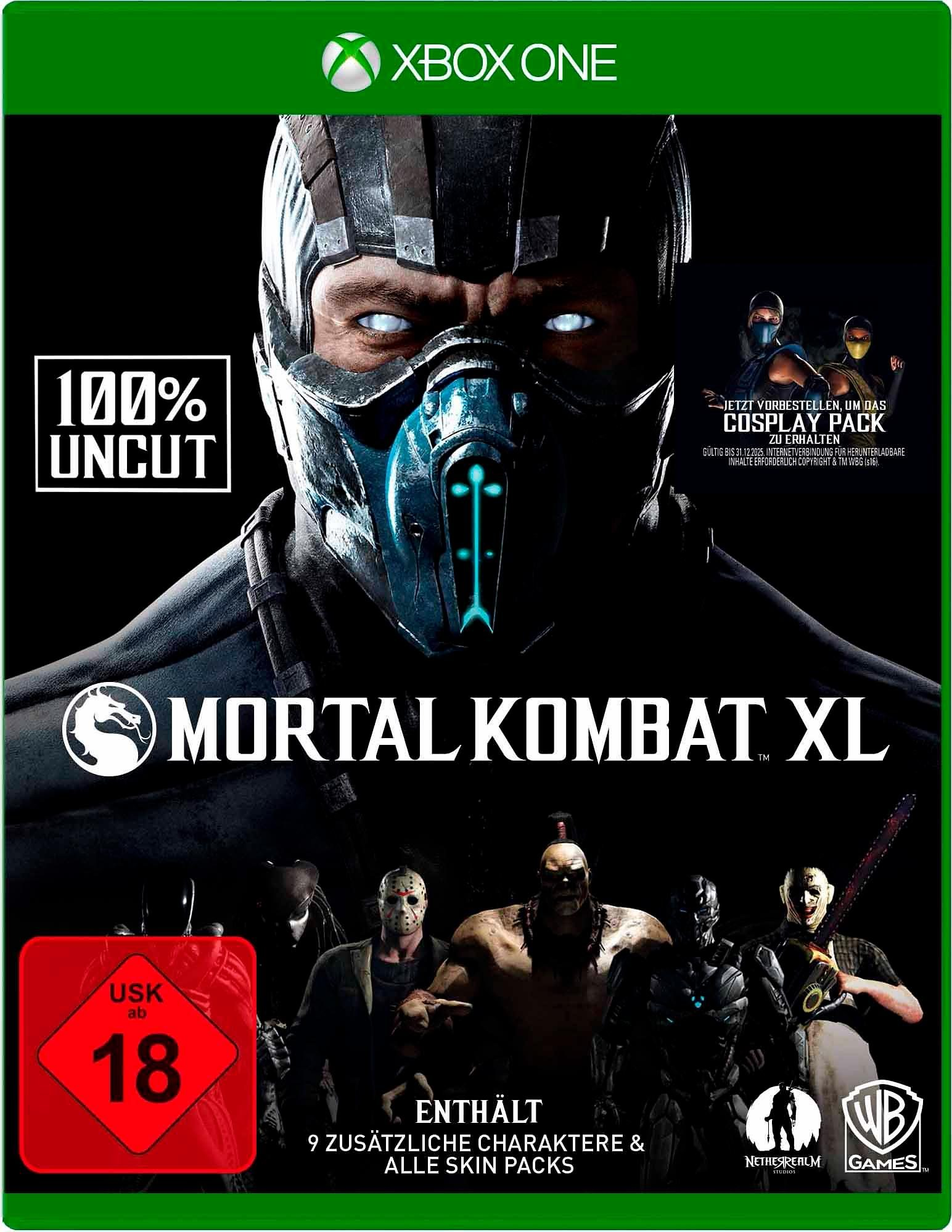 Mortal Kombat XL 100% Uncut Xbox One