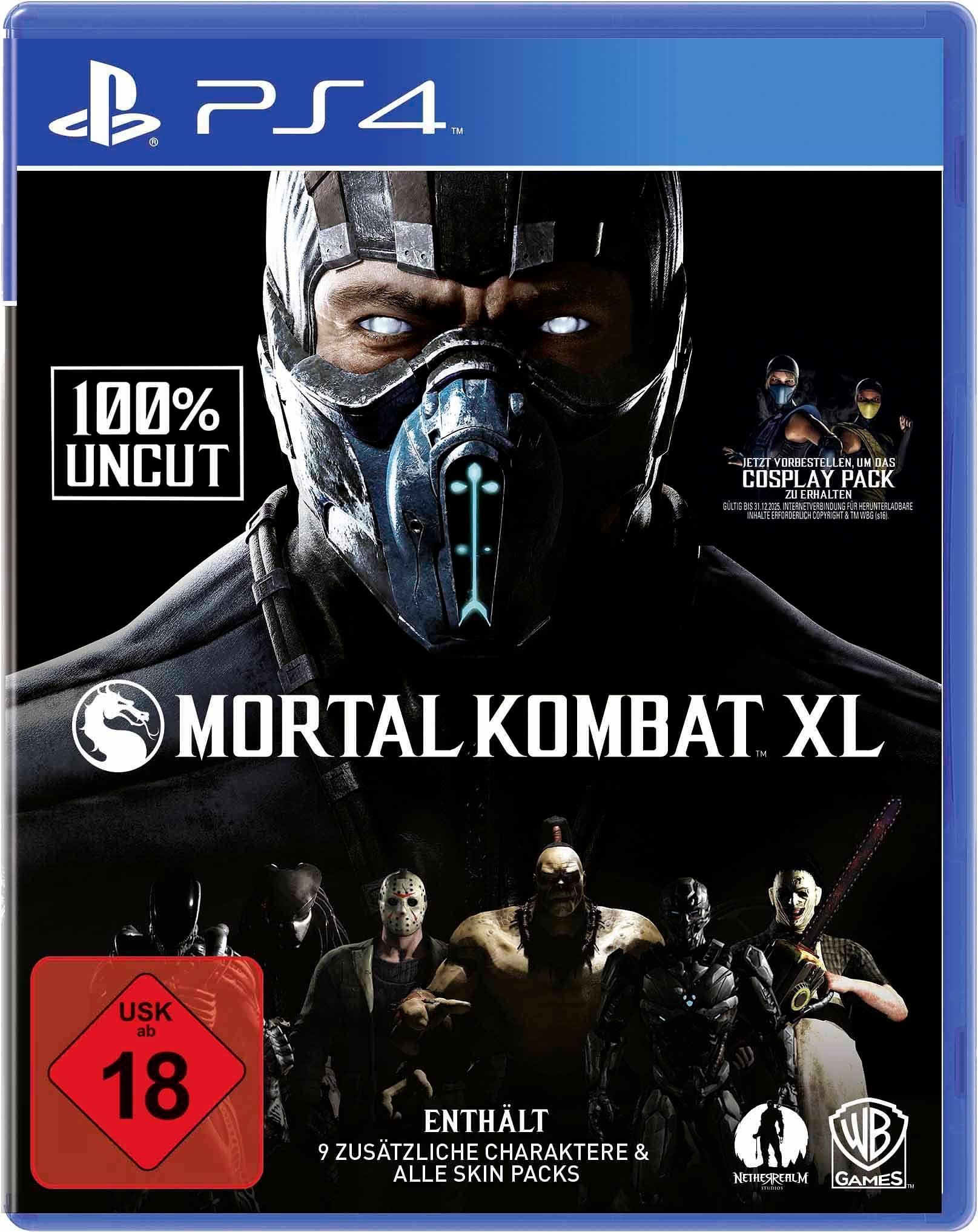 Mortal Kombat XL 100% Uncut PlayStation 4