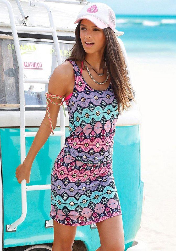 Venice Beach Strandkleid in bedruckt