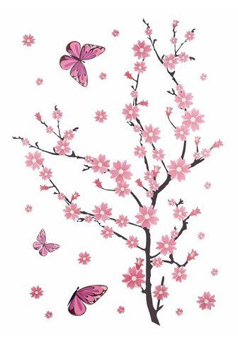 HOME AFFAIRE Sienos lipdukai »Kirschblüten su Schme...