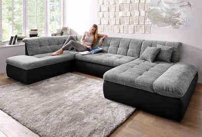 wohnlandschaft online kaufen » sofa in u-form | otto, Wohnzimmer dekoo