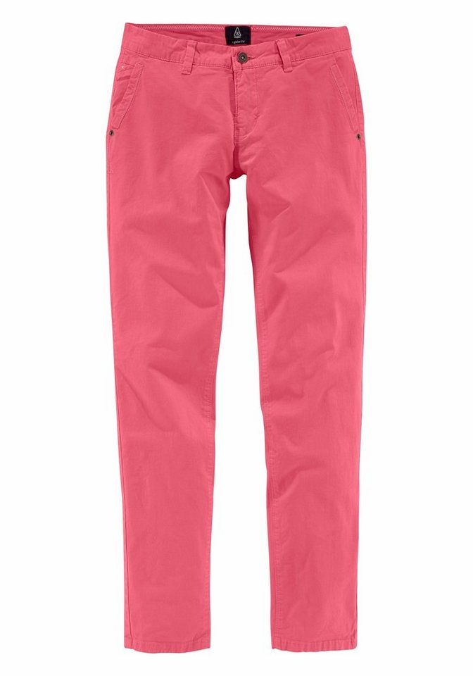 Gaastra Chinohose »Rough Quay« in pink