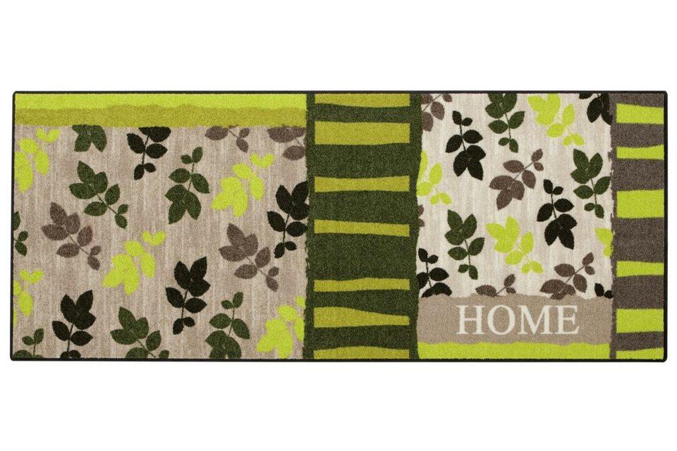 Fußmatte in grün/braun