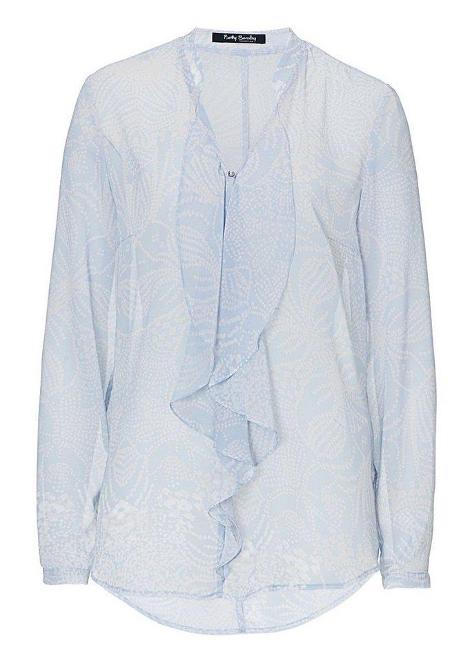 Betty Barclay Damenbluse in Blau/Beige - Blau