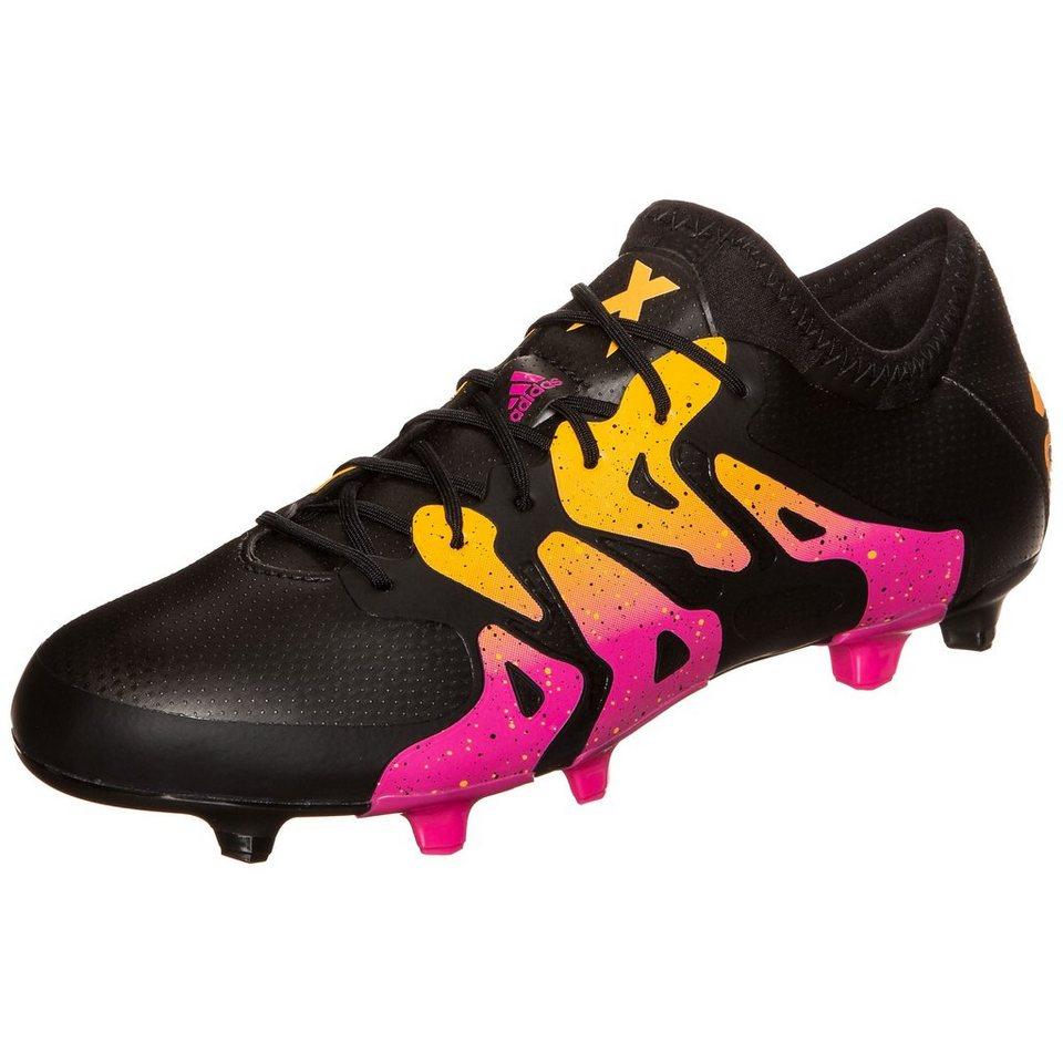 adidas Performance X 15.1 FG/AG Fußballschuh Herren in schwarz / pink