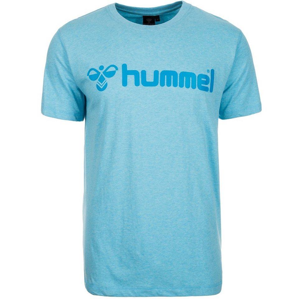 HUMMEL TEAMSPORT Classic Bee T-Shirt Herren in hellblau / türkis