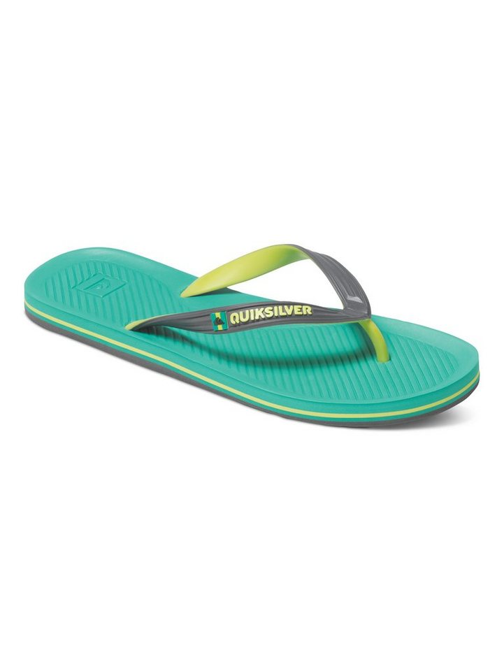 Quiksilver Sandalen »Haleiwa« in Black/green/yellow
