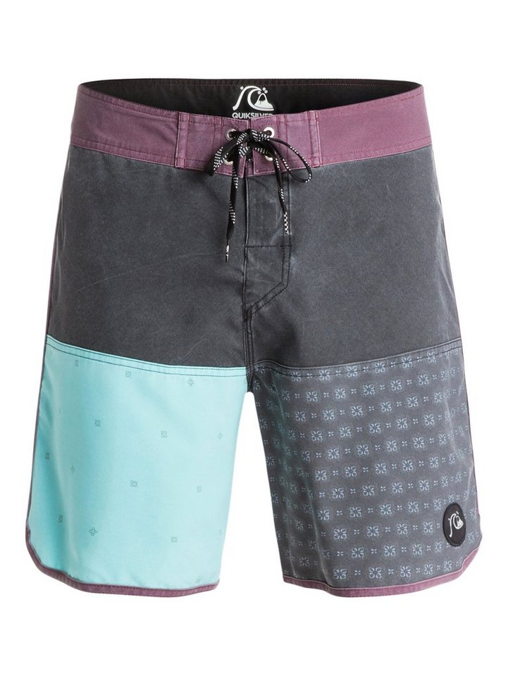 Quiksilver Boardshort »Quad Block 18« in black