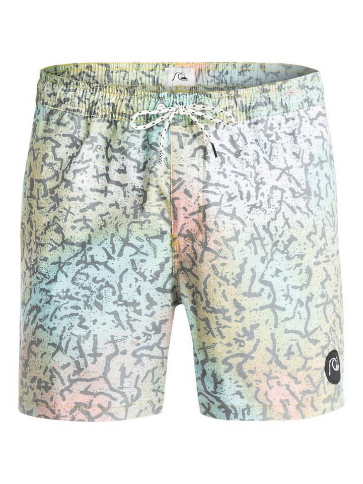 Quiksilver Boardshort »Ghetto Mix 16« in cracked safety yellow