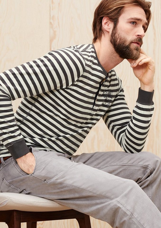 s.Oliver Schmales Ringelshirt in mellow stripes