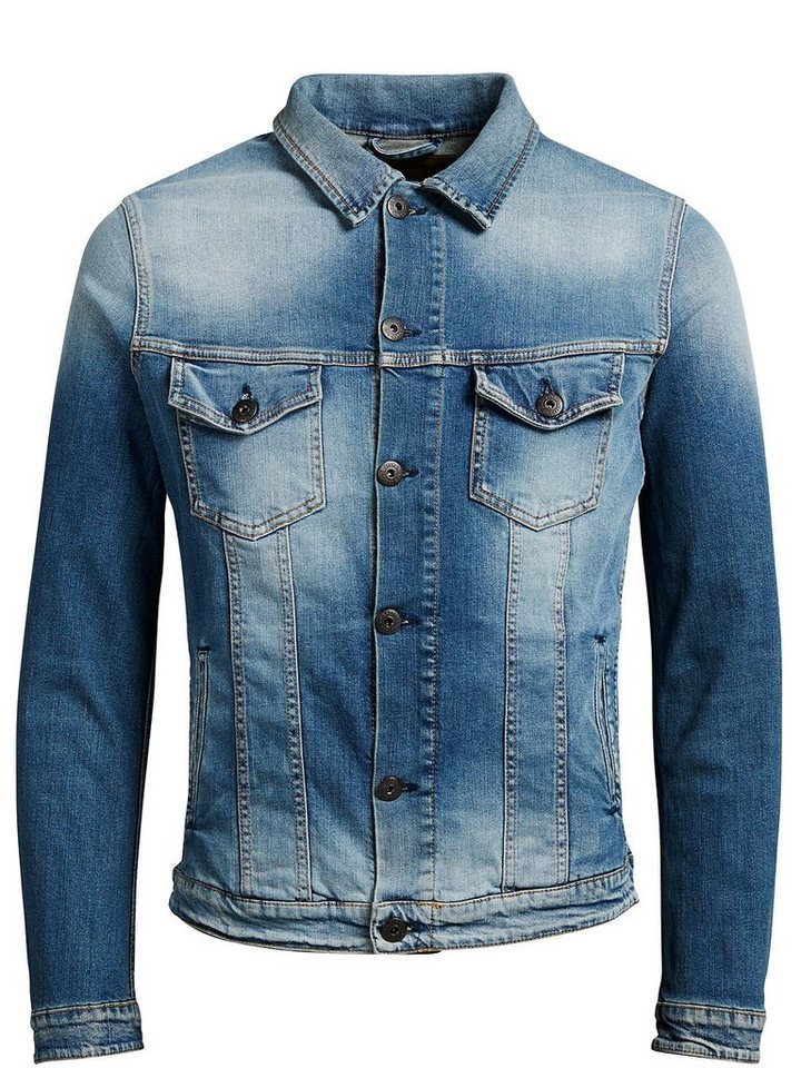 Jack & Jones Denim- Jacke in Blue Denim