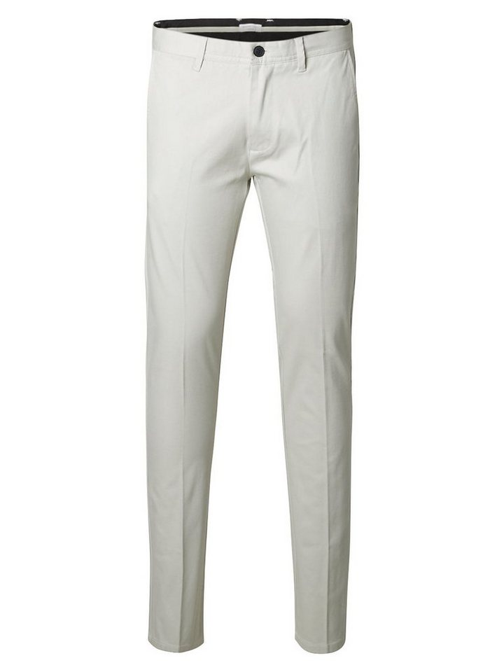 Selected Slim-Fit- Chino in Glacier Gray