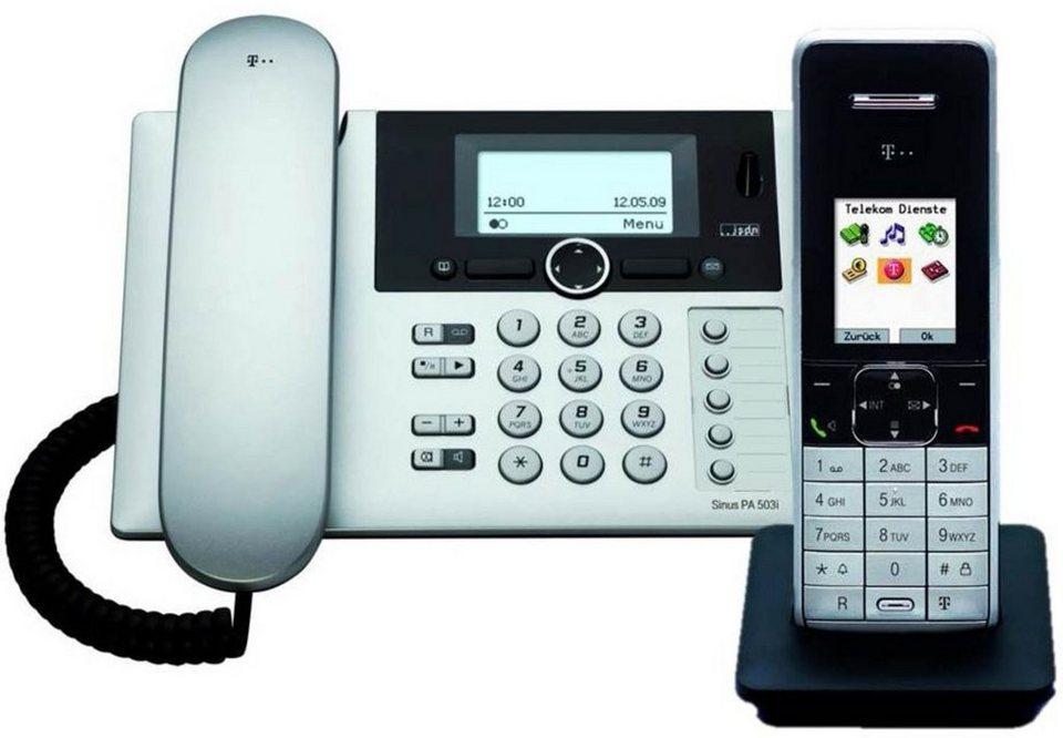 Telekom ISDN »Sinus PA 503i plus 1« in Silber