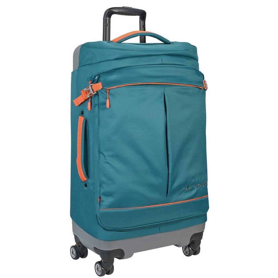 Vaude Trek & Trail Melbourne 65 4-Rollen Trolley 74 cm in blue sapphire