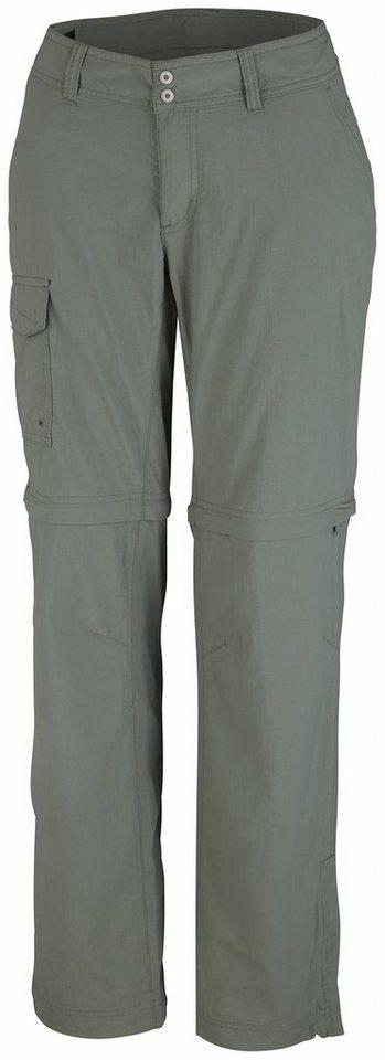 Columbia Outdoorhose »Silver Ridge Convertible Pant Women Long« in oliv