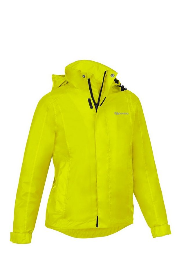 Gonso Trikot »Pelle Allwetter-Jacke Kinder« in gelb