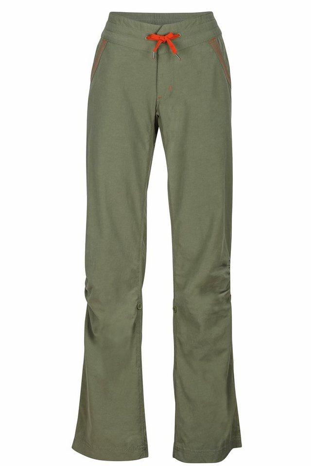 Marmot Outdoorhose »Leah Pant Women« in grün