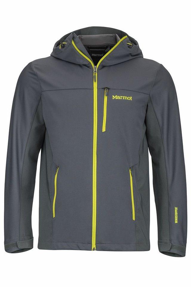 Marmot Softshelljacke »ROM Jacket Men« in grau