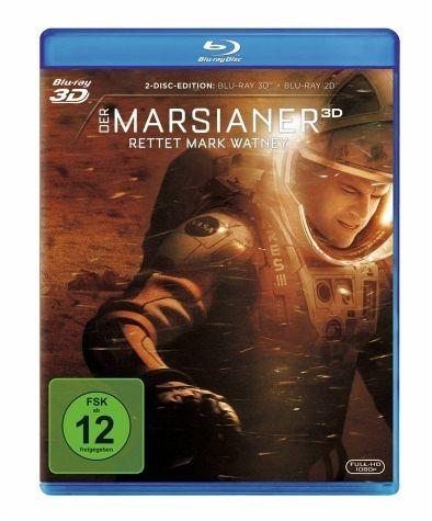 Blu-ray »Der Marsianer - Rettet Mark Watney (Blu-ray 3D)«