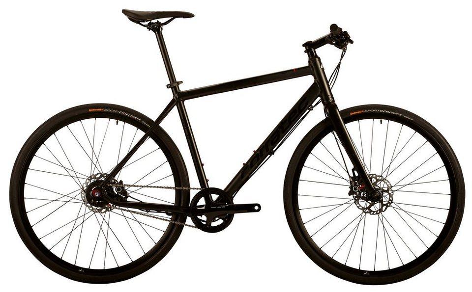 Corratec Fitnessbike, 28 Zoll, 8 Gang Alfine Nabenschaltung, »SH 1« in schwarz
