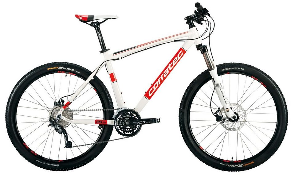 corratec hardtail mountainbike 27 5 zoll 27 gang shimano. Black Bedroom Furniture Sets. Home Design Ideas