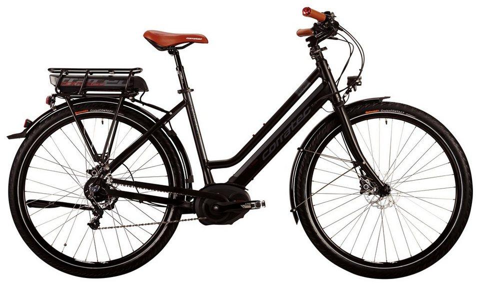 Corratec Da-Trekking E-Bike,29 Z, 8 Gg Naben,Mittelm, »E-Power 29 Alfine Performance Disc Lady 400W« in schwarz