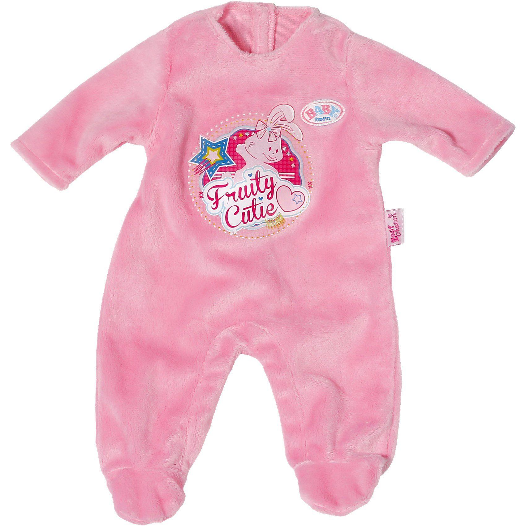 Zapf Creation BABY born® Puppenkleidung Strampler rosa, 43 cm