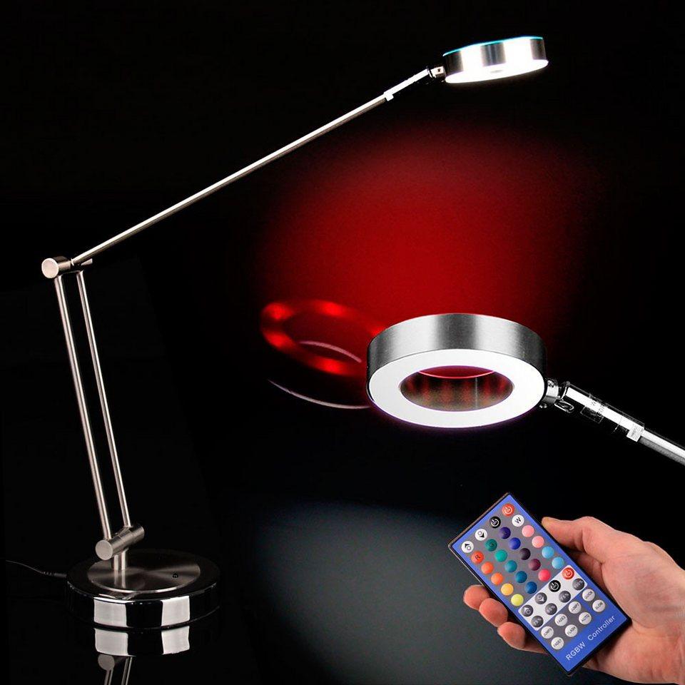 Licht-Trend Tischleuchte »Vivid LED Tischleuchte mit strahlenden farbigen« in Farbig