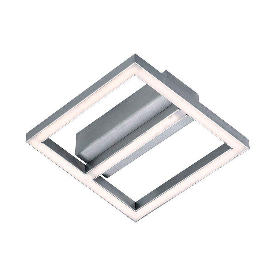 Licht-Trend Deckenleuchte »Quadra / LED Wand- / Deckenleuchte mit modernen« in Silber