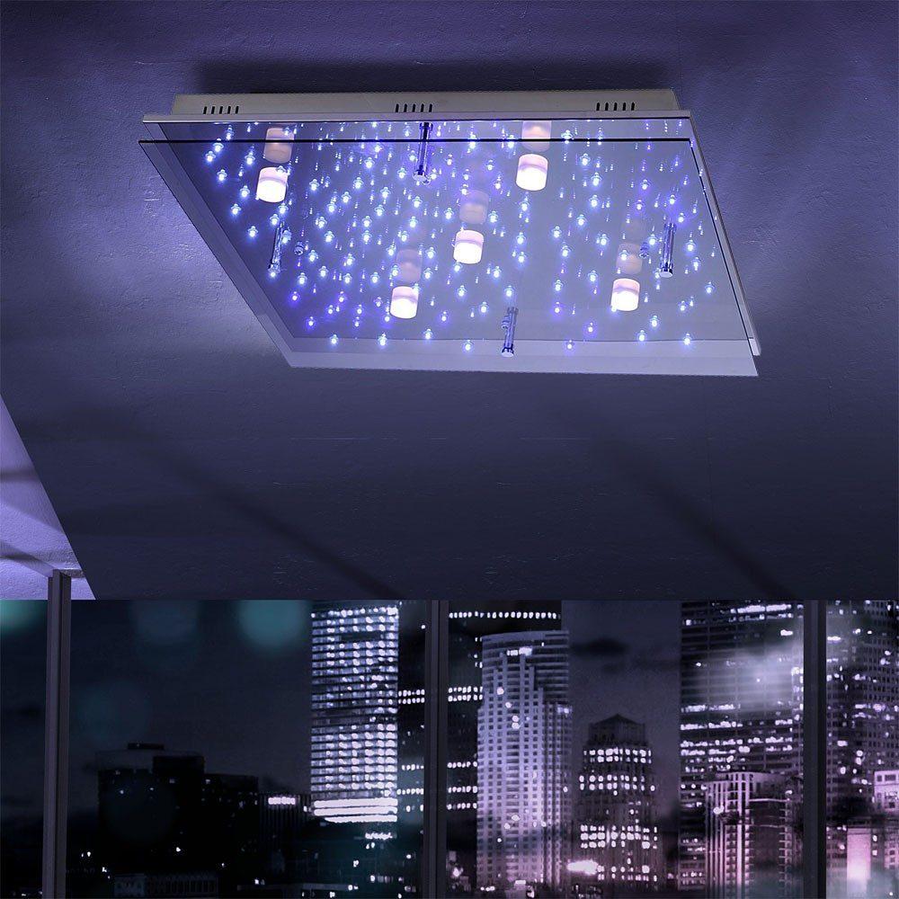 Licht-Trend Deckenleuchte »LED Sternenhimmel 65 x 65 cm«