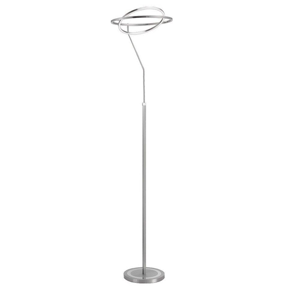 Licht-Trend Stehleuchte »LED Stehleuchte mit 180° drehbarem Deckenfluter« in Silber