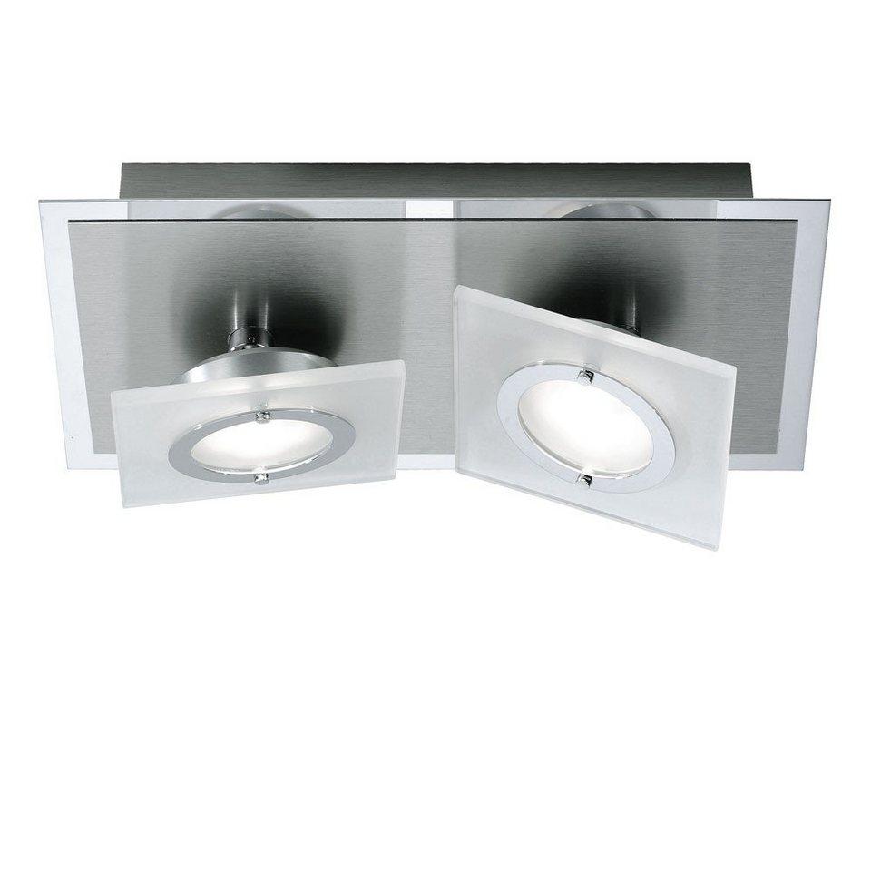 Licht-Trend Deckenleuchte »Slew LED Decken- oder Wandleuchte mit schwenkbaren« in Silber