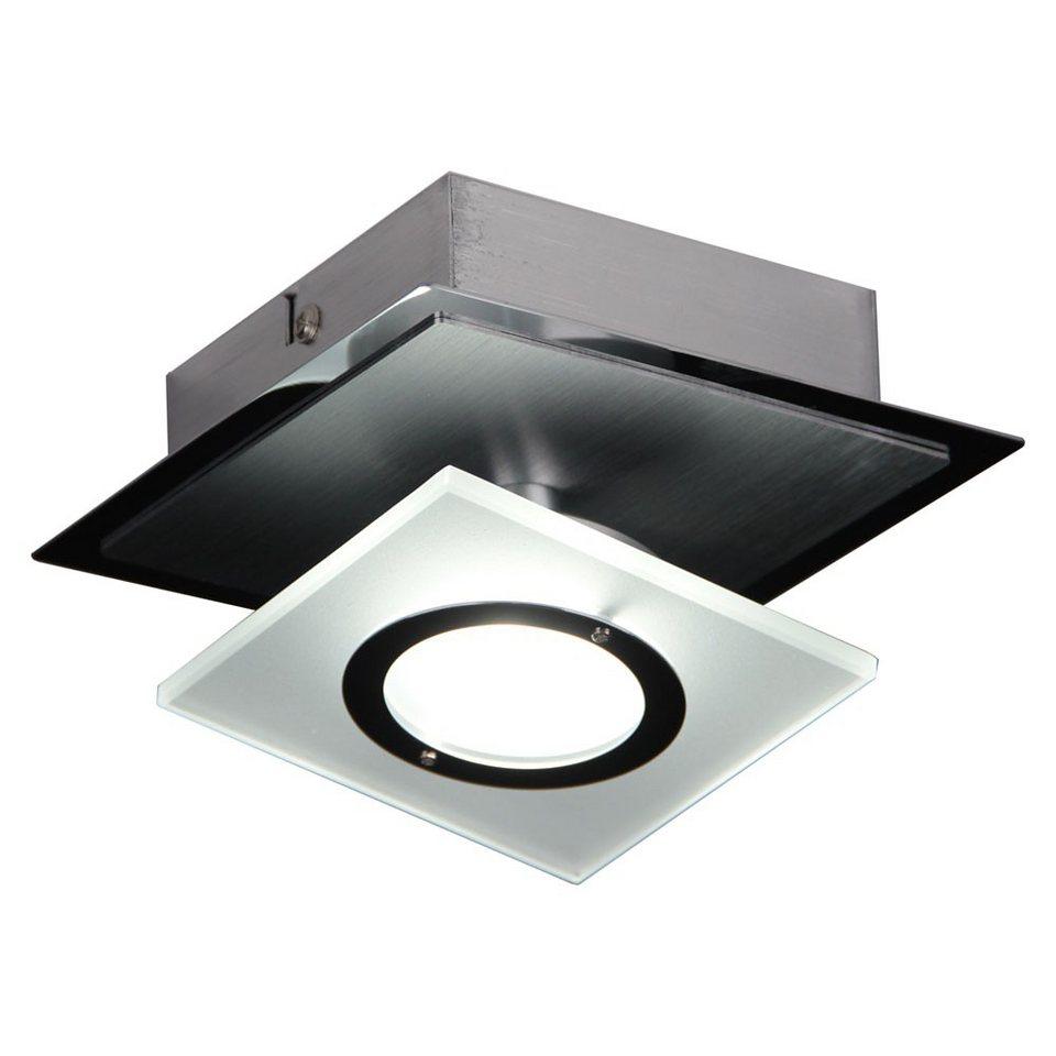 Licht-Trend Wandleuchte »Slew LED-Wand- oder Deckenleuchte mit schwenkbarem« in Silber