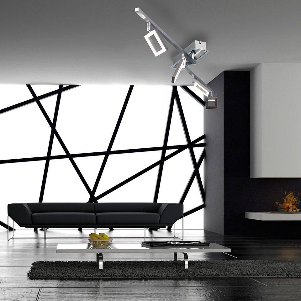Licht-Trend Deckenleuchte »LED-Balkenspot dreh & schwenkbar« in Silber