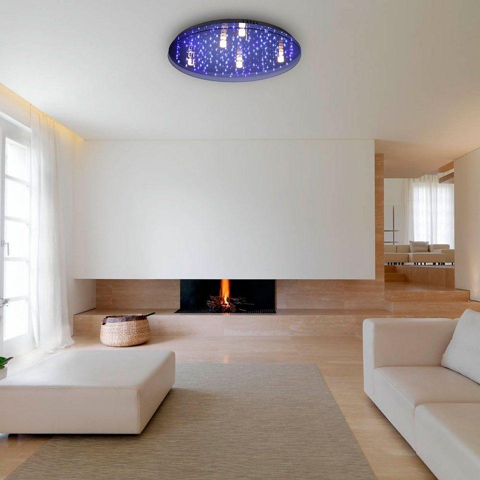 Licht-Trend Deckenleuchte »LED Sternenhimmel mit tollem Lichteffekt« in Transparent