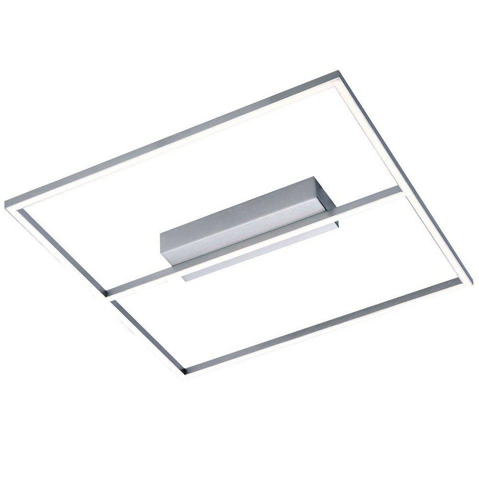 Licht-Trend Deckenleuchte »Quadra LED Decken- oder Wandleuchte im modernen« in Silber