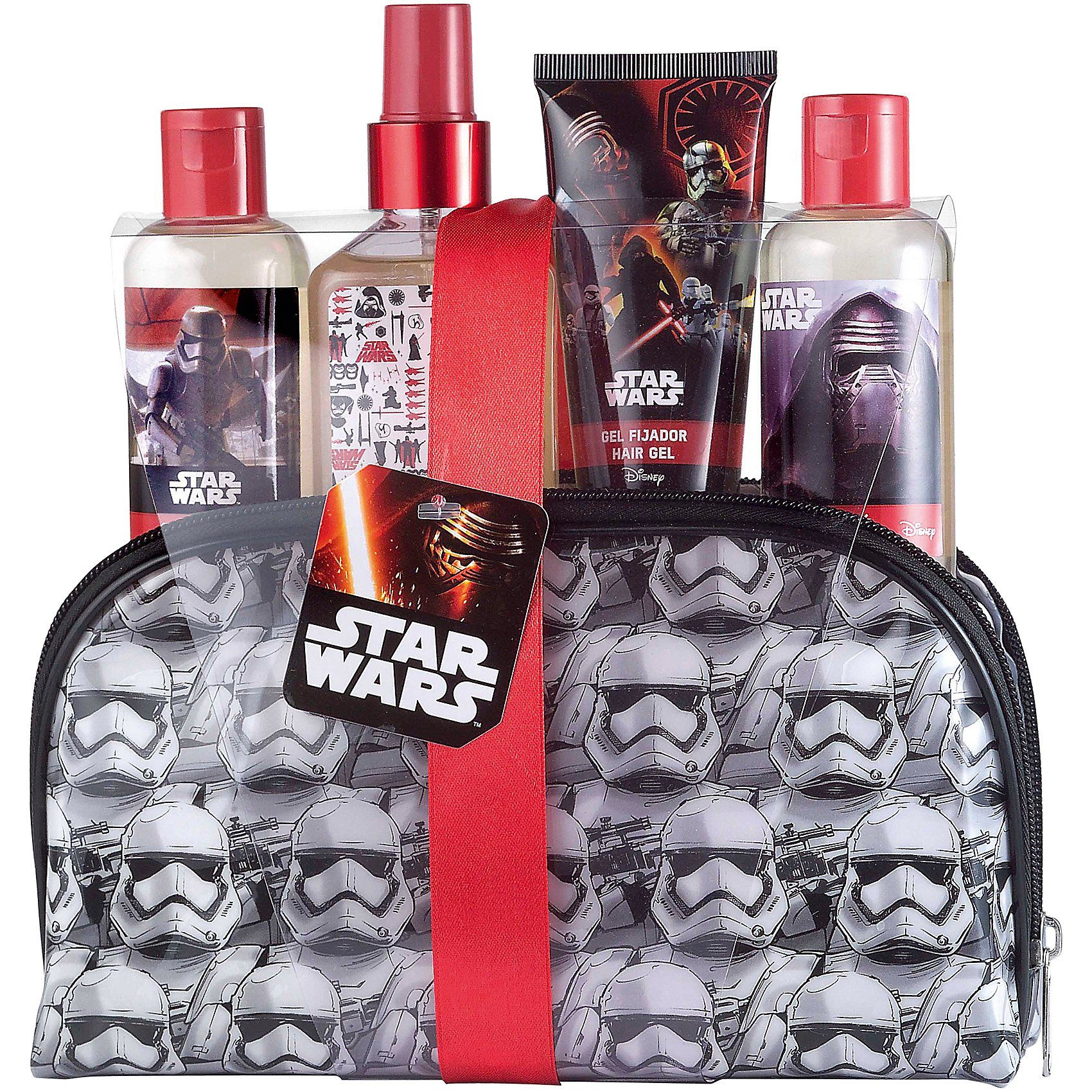 Geschenk Set Star Wars inkl Duschbad, Shampoo und Haargel