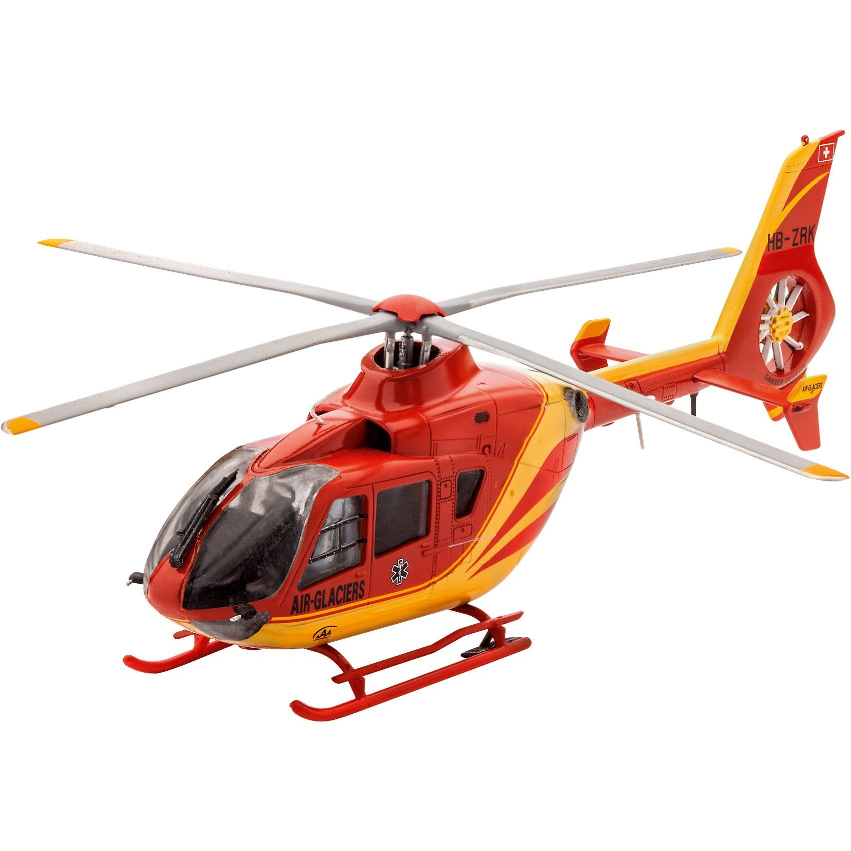 Revell Modelbausatz EC135 AIR-GLACIERS