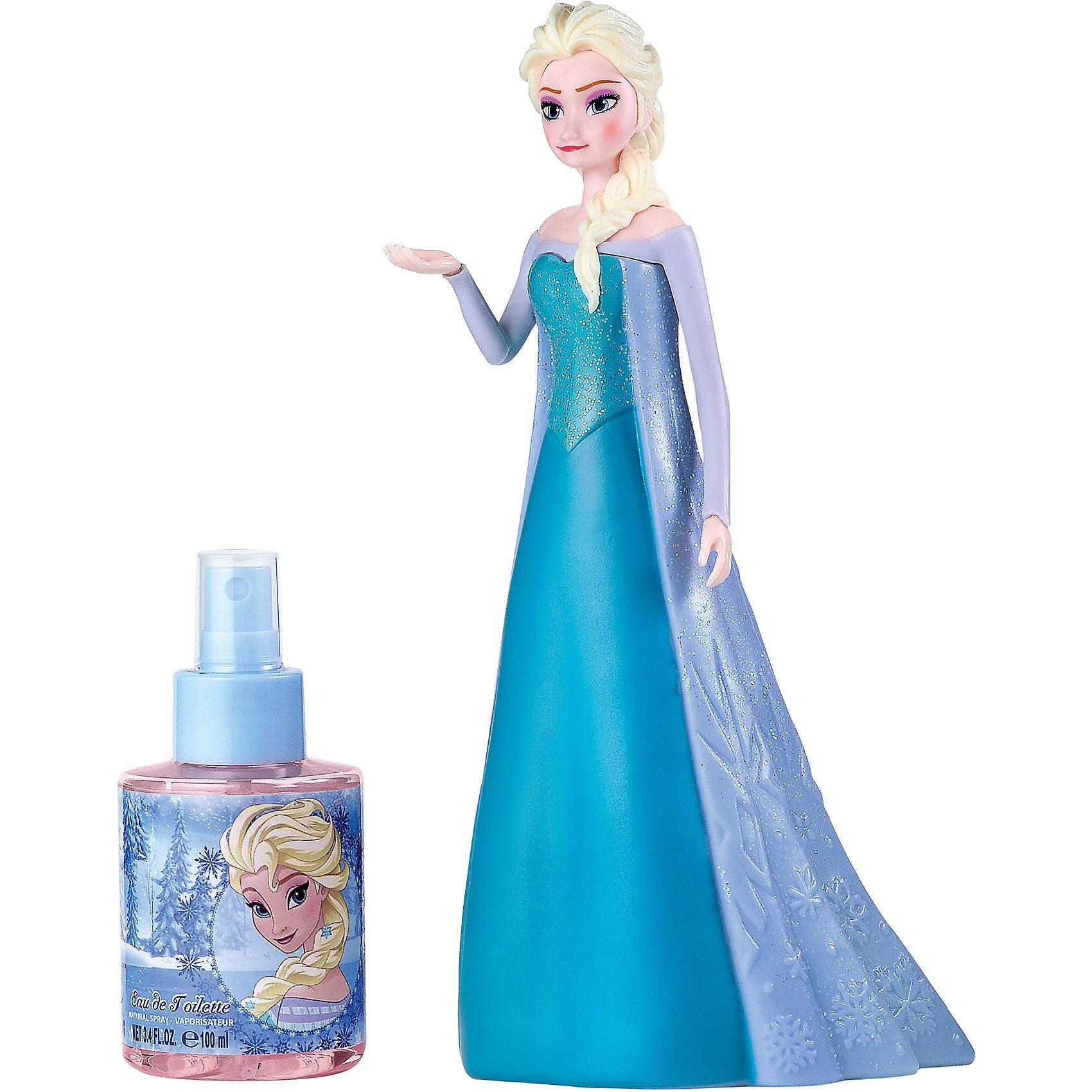 Eau de Toilette Frozen mit Elsa Figur, 100 ml