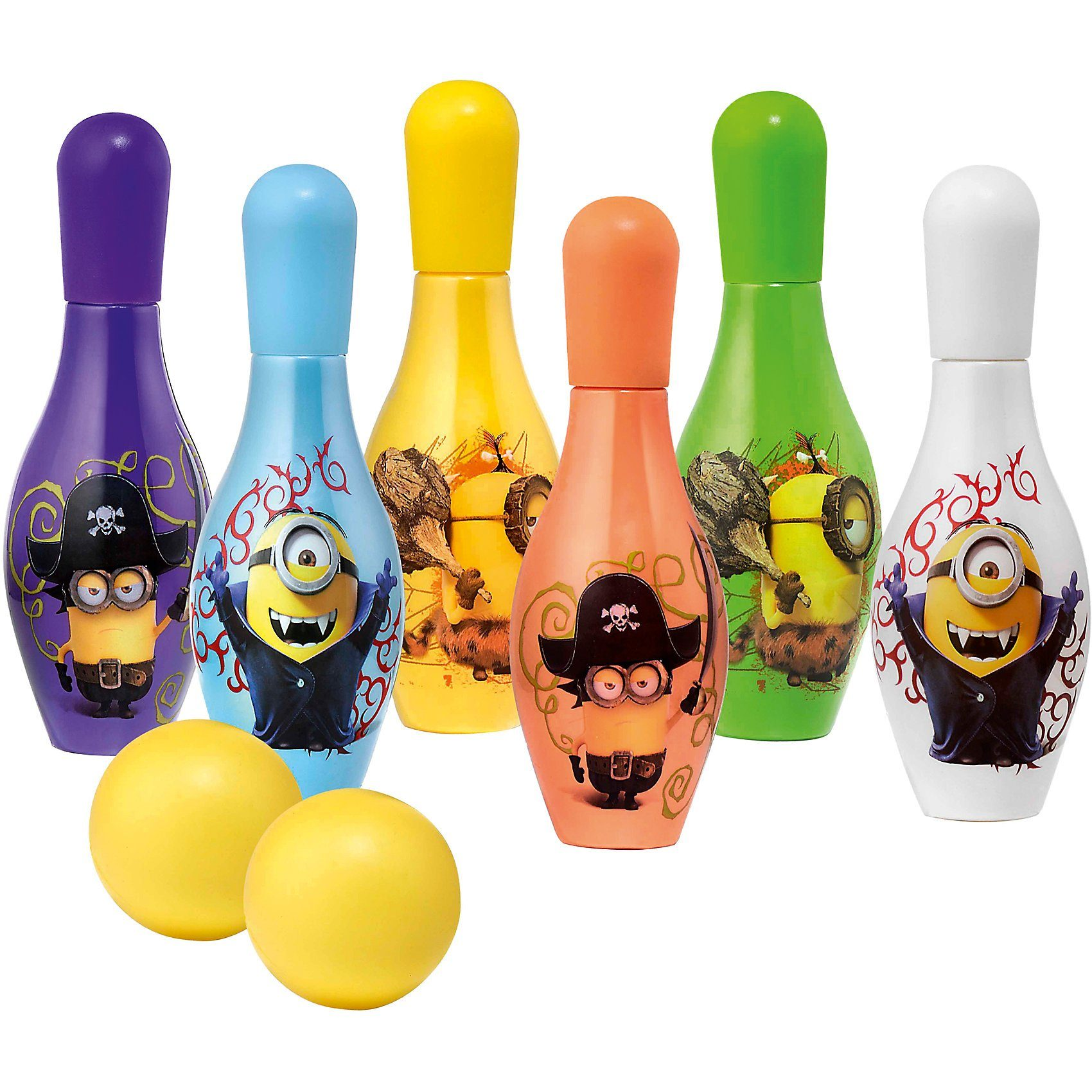 Badeset Minions Bowlingpins