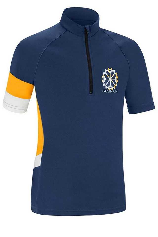 Gonso Trikot »Denny Bike Shirt Kinder« in blau