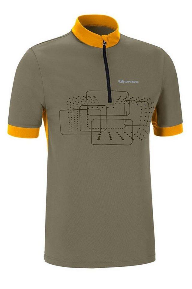 Gonso Radtrikot »Kalvin Bike Shirt Herren« in oliv