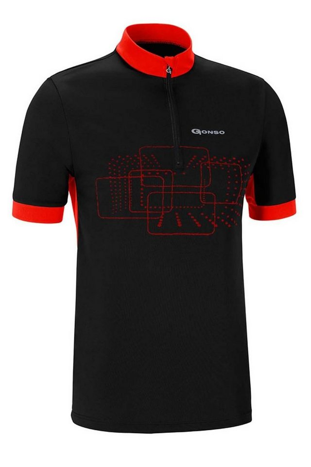 Gonso Radtrikot »Kalvin Bike Shirt Herren« in schwarz
