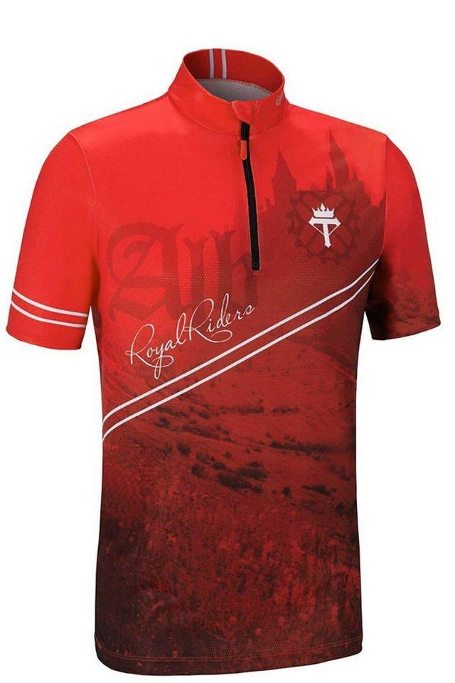 Gonso Radtrikot »Castle Bike Shirt Herren« in rot