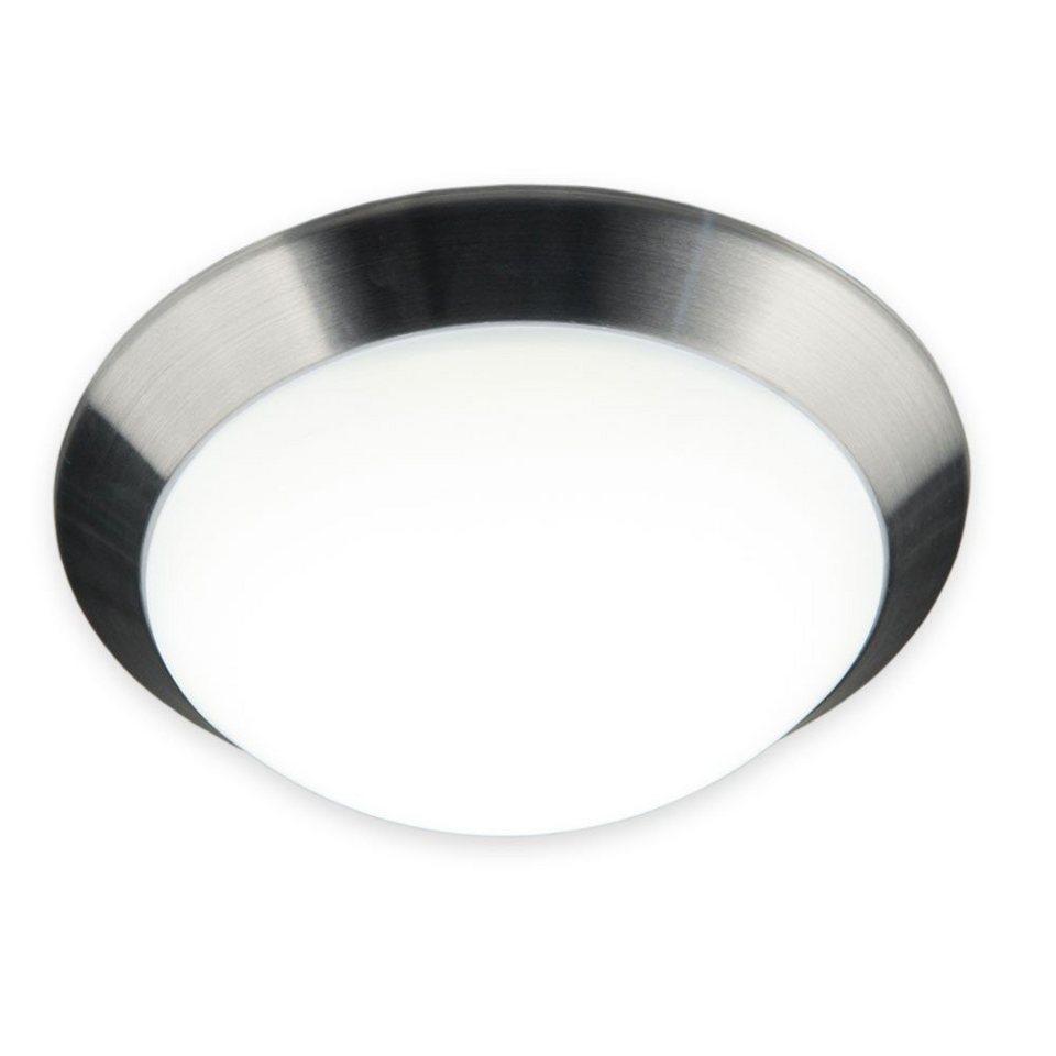 Licht-Trend Deckenleuchte »Brose LED Deckenleuchte mit gewölbtem« in Weiß