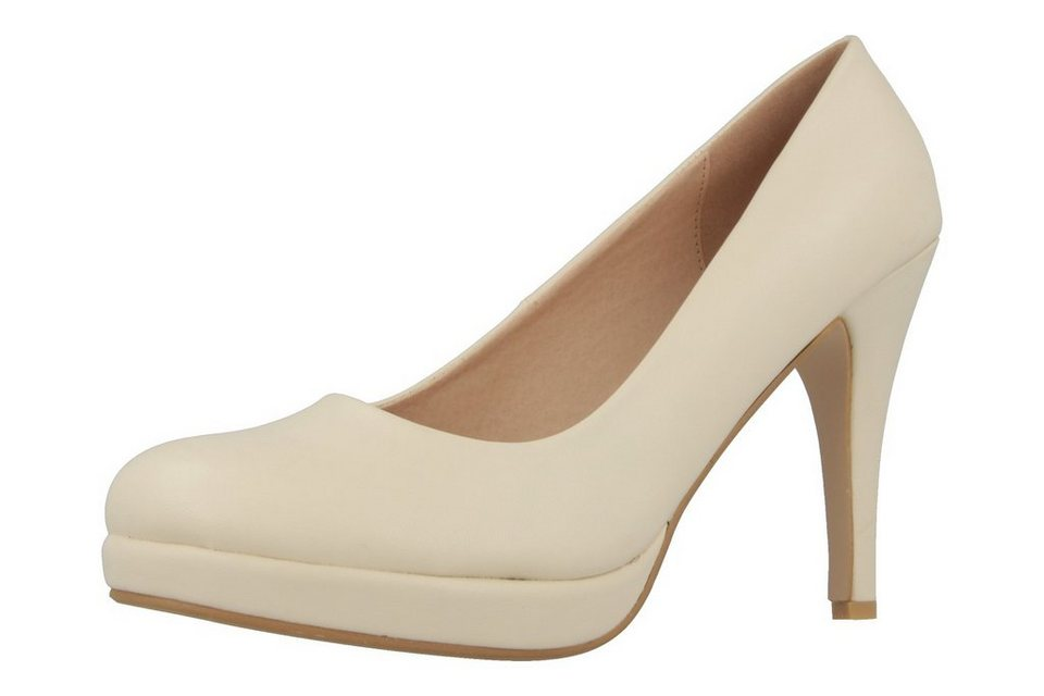 Andres Machado High Heels in Beige