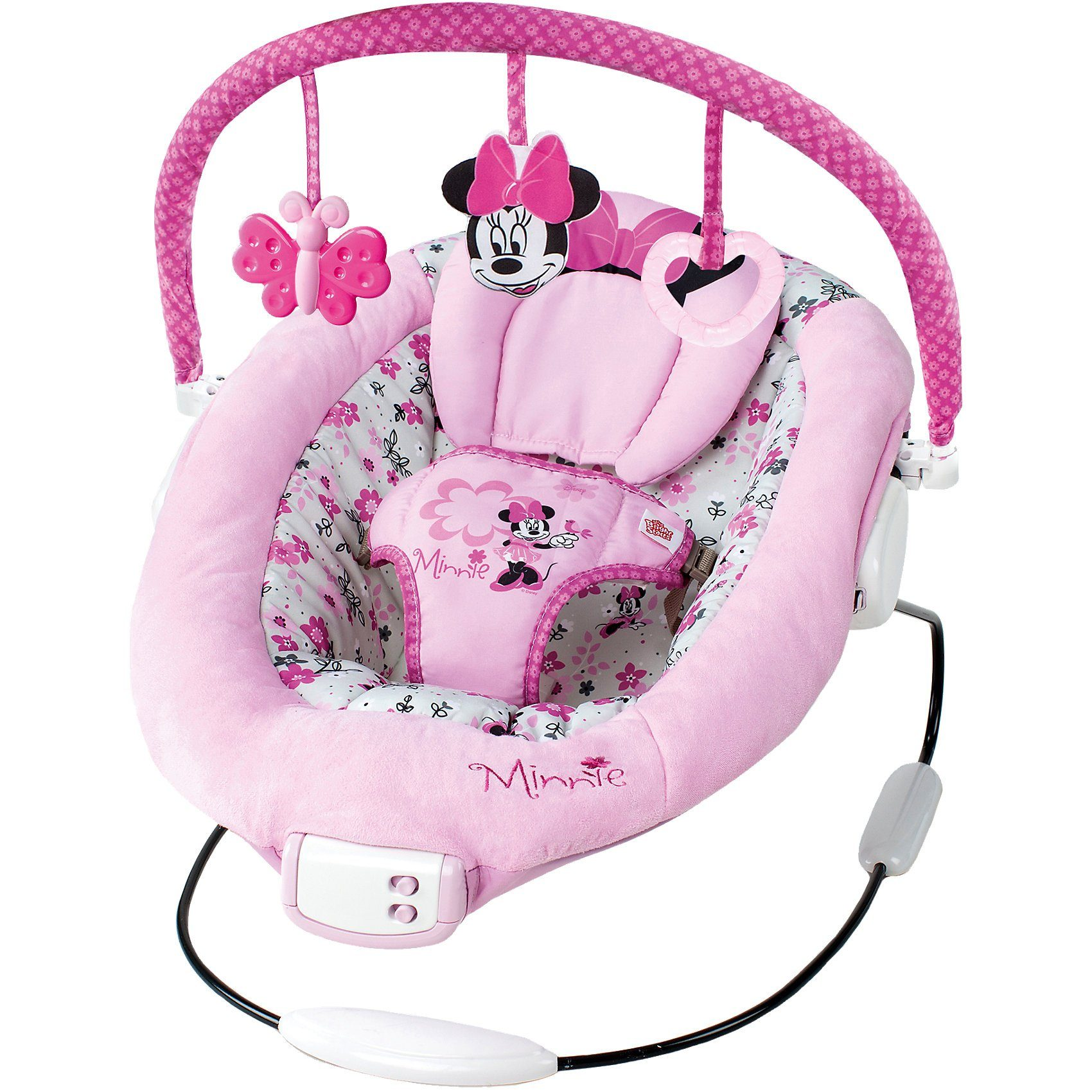 Kids II Wippe Bouncer Minnie Mouse, Minnie Garden Delights